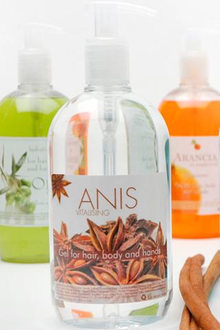 Шампунь для волос и тела ANIS 500 мл для гостиниц