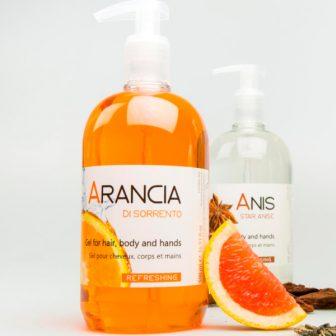 Шампунь для волос и тела ARANCIA/ORANGE 500 мл для гостиниц