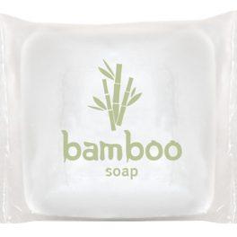 Bamboo Мыло 13 г в упаковке флоу-пак для гостиниц