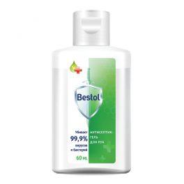 Bestol Средство дезинфицирующее, кожный антисептик, гель, 60 мл