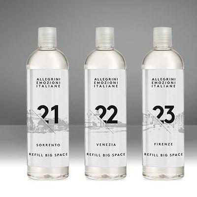 Жидкий аромат emozione-italiane с профессиональными диффузорами 21 SORRENTO, 22 VENEZIA, 23 FIRENZE для гостиниц