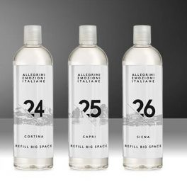 Жидкий аромат emozione-italiane с профессиональными диффузорами 24 cortina, 25 capri, 26 siena для гостиниц