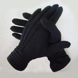 Перчатки для официантов мужские чёрные