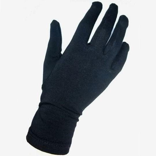 Перчатки для официантов чёрные женские