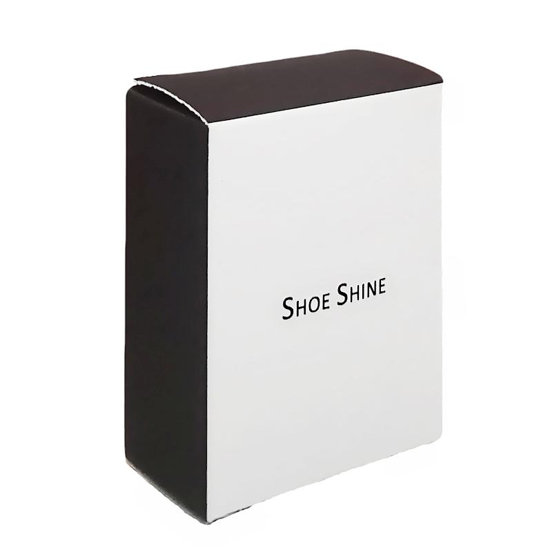 Губка для обуви в картонной коробке для гостиниц