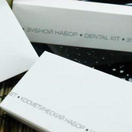 COOL GREY NEW Косметический набор в картонной упаковке для гостиниц
