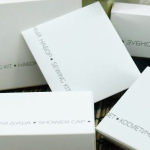COOL GREY NEW Швейный набор в картонной упаковке для гостиниц