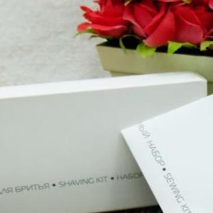 COOL GREY NEW Бритвенный набор в картонной упаковке для гостиниц