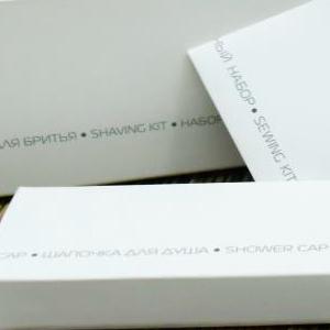 COOL GREY NEW Шапочка для душа в картонной упаковке для гостиниц