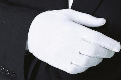 Перчатки для официантов мужские