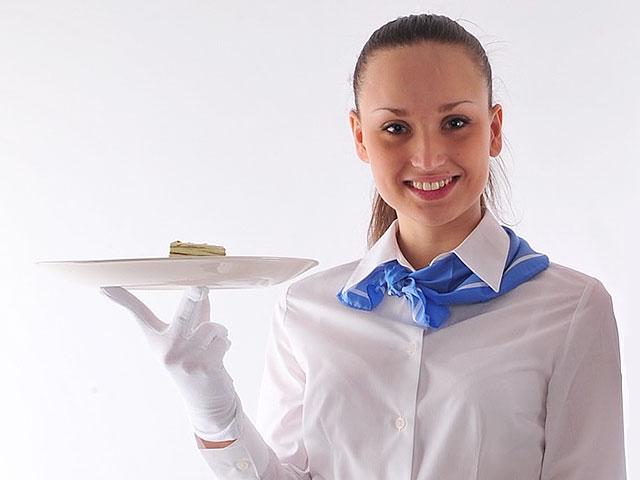Перчатки для официантов женские хлопковые для гостиниц