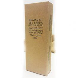 Бритвенный набор (бритвенный станок Schick, гель для бритья в тубе 10г) в картонной упаковке для гостиниц
