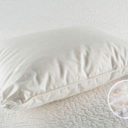 Трехкамерная подушка пух-перо большая для гостиниц