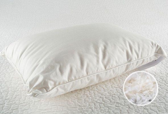 Трехкамерная подушка пух-перо большая
