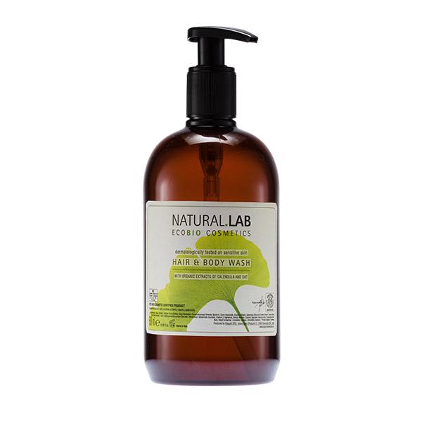 Natural Lab натуральный гель для тела и волос 500 мл