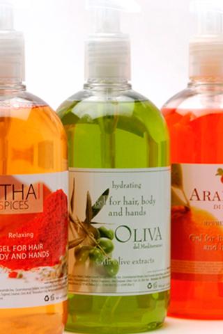 Шампунь для волос и тела OLIVA/OLIVE 500 мл для гостиниц