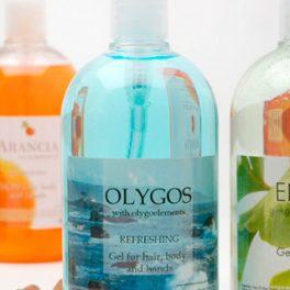 Шампунь для волос и тела OLYGOS 500 мл для гостиниц