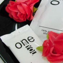 One For You Мыло 13 г в упаковке флоу-пак для гостиниц