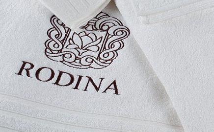 Полотенце с логотипом для гостиниц