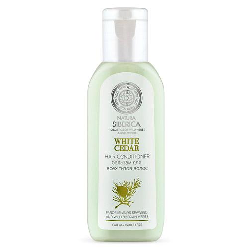 Бальзам для всех типов волос White cedar от Натура Сиберика для гостиниц