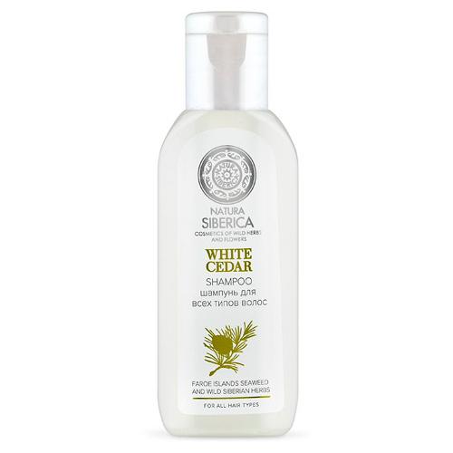 Шампунь для всех типов волос White cedar от Натура Сиберика для гостиниц